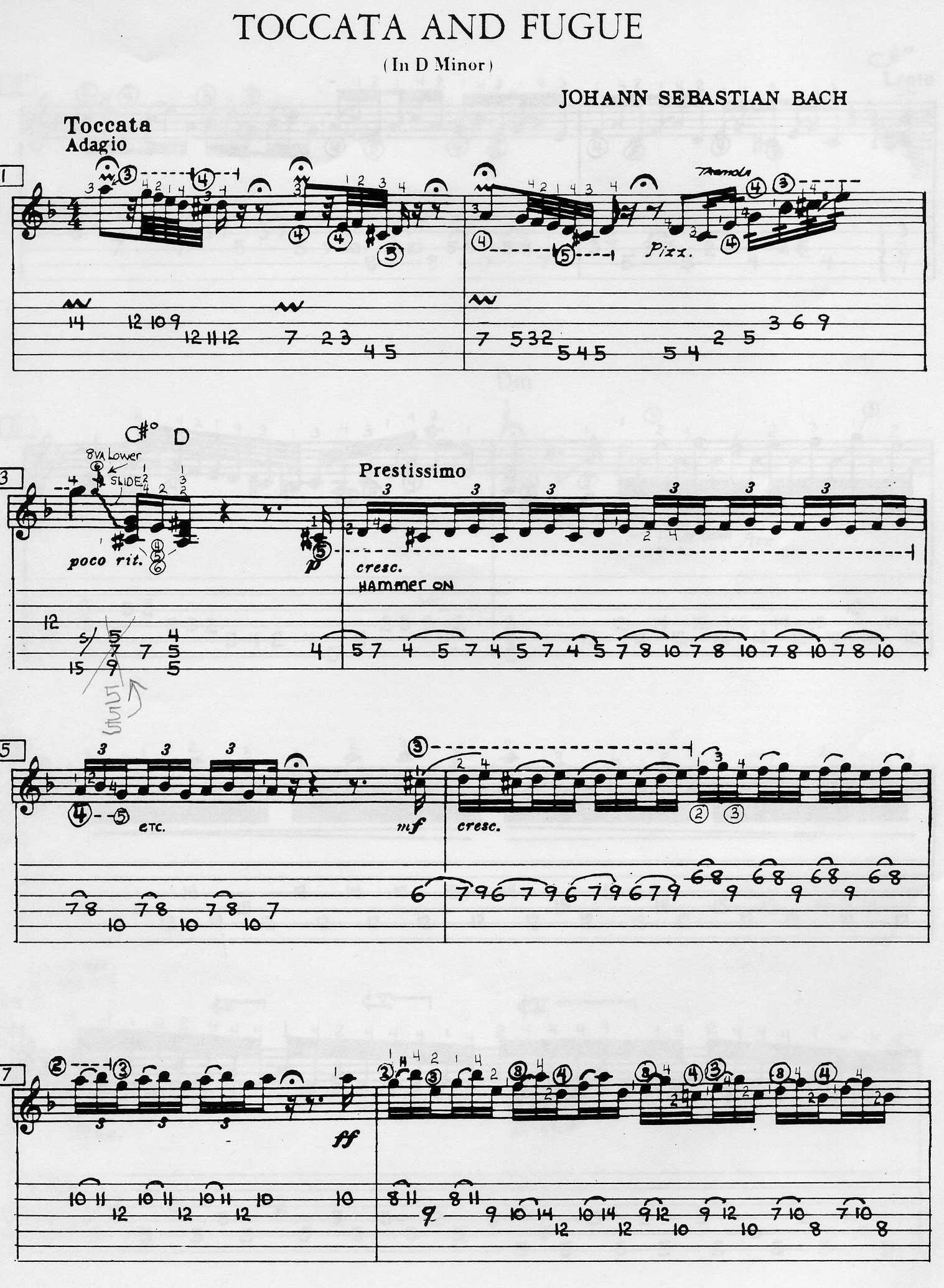 a study on toccata and fugue Back in arnstadt, bach wrote 'toccata and fugue in d minor' (1702), his first masterpiece which stemmed from his bold organ improvisations.